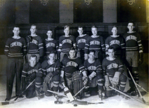 14_Camerons Hockey Team circa 1938