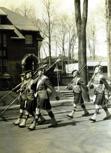 7_Camerons-Depositing of Colours to St Giles Church Ottawa-May 12-1940-3