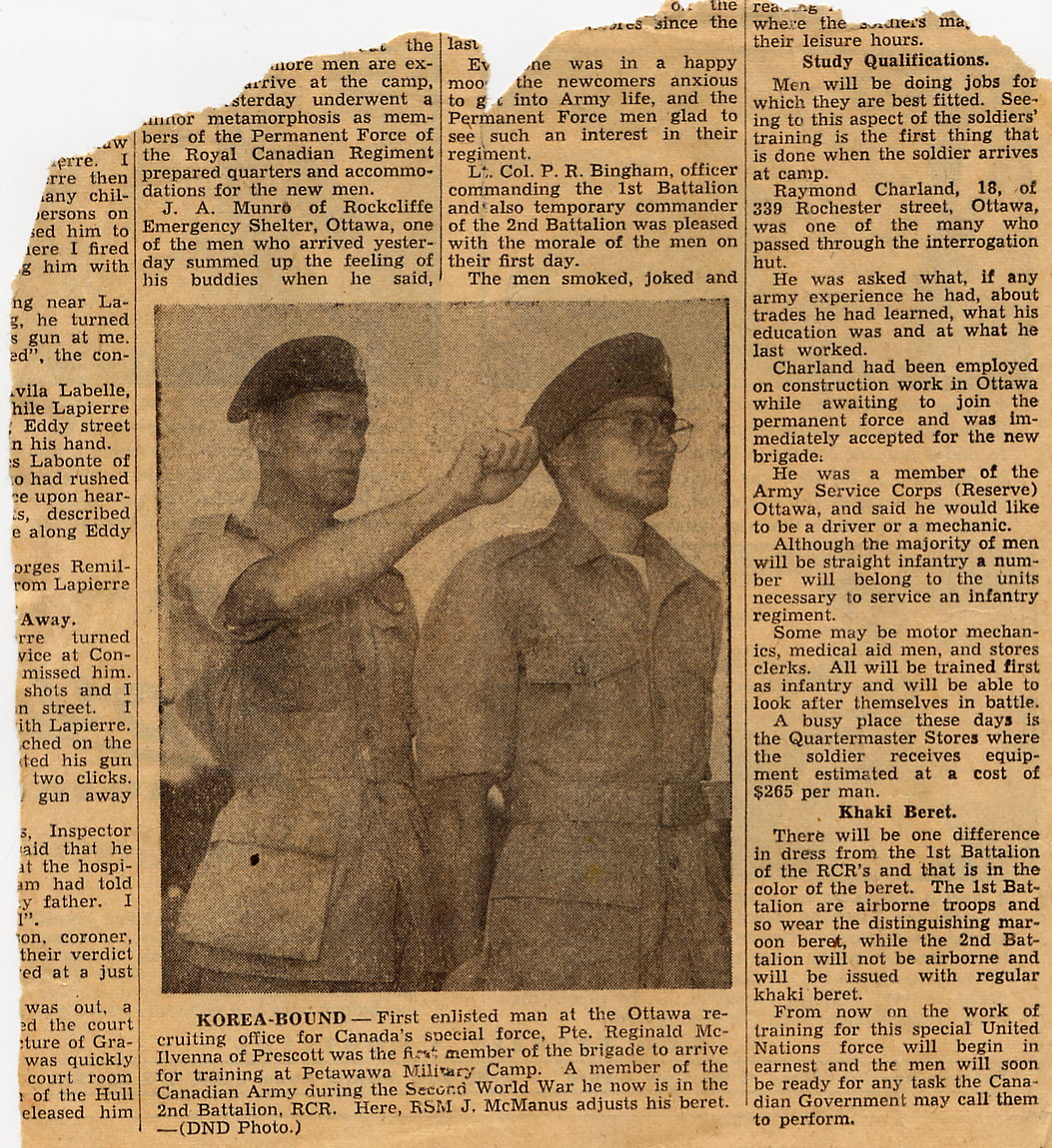 1_Korea-Preparation-OttawaJOurnal article undated