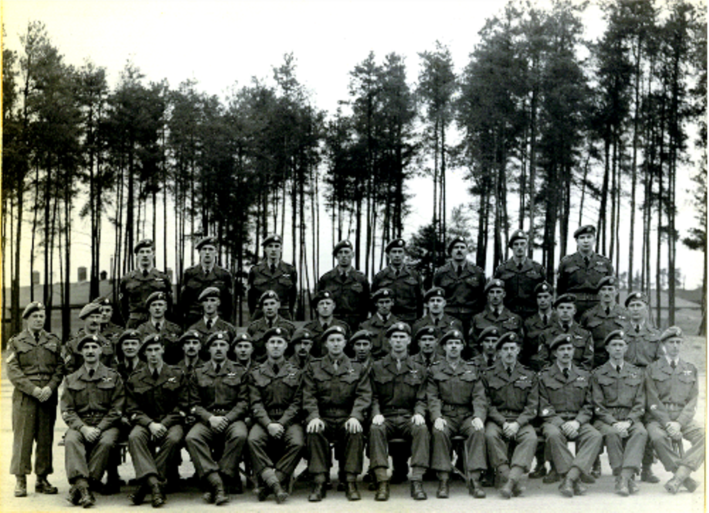 6_RCR Special Force for Korea1-Taken at Petawawa 1950-Bob Keene-CO_smaller