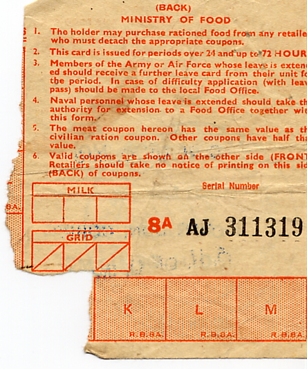 0b_Leave or Duty Ration Card-03March1944-Back