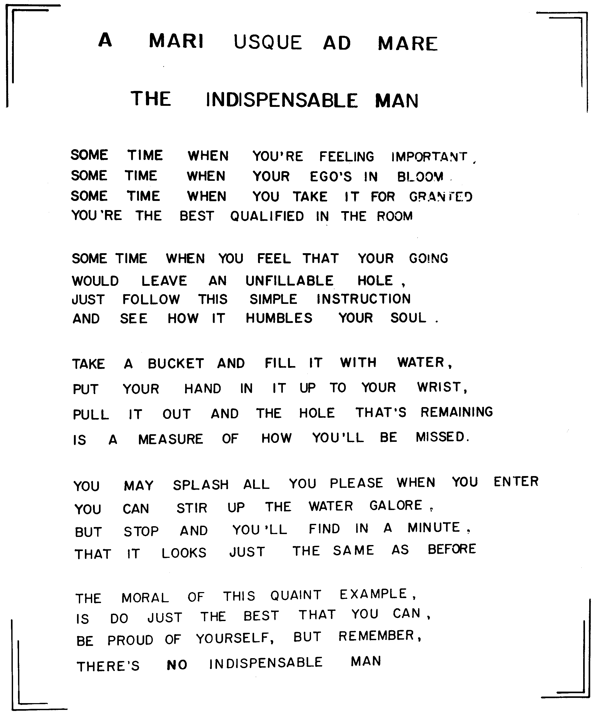 0_The Indispensible Man