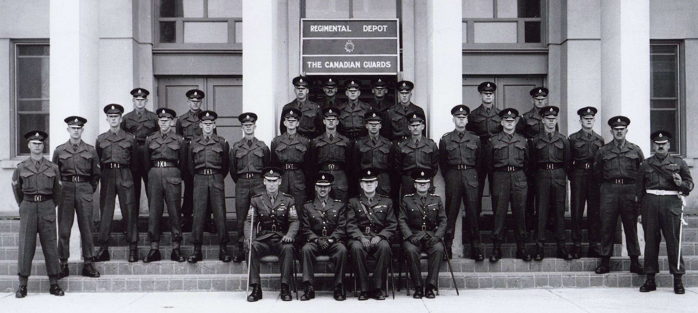12_Cdn Guards Depot circa 1958