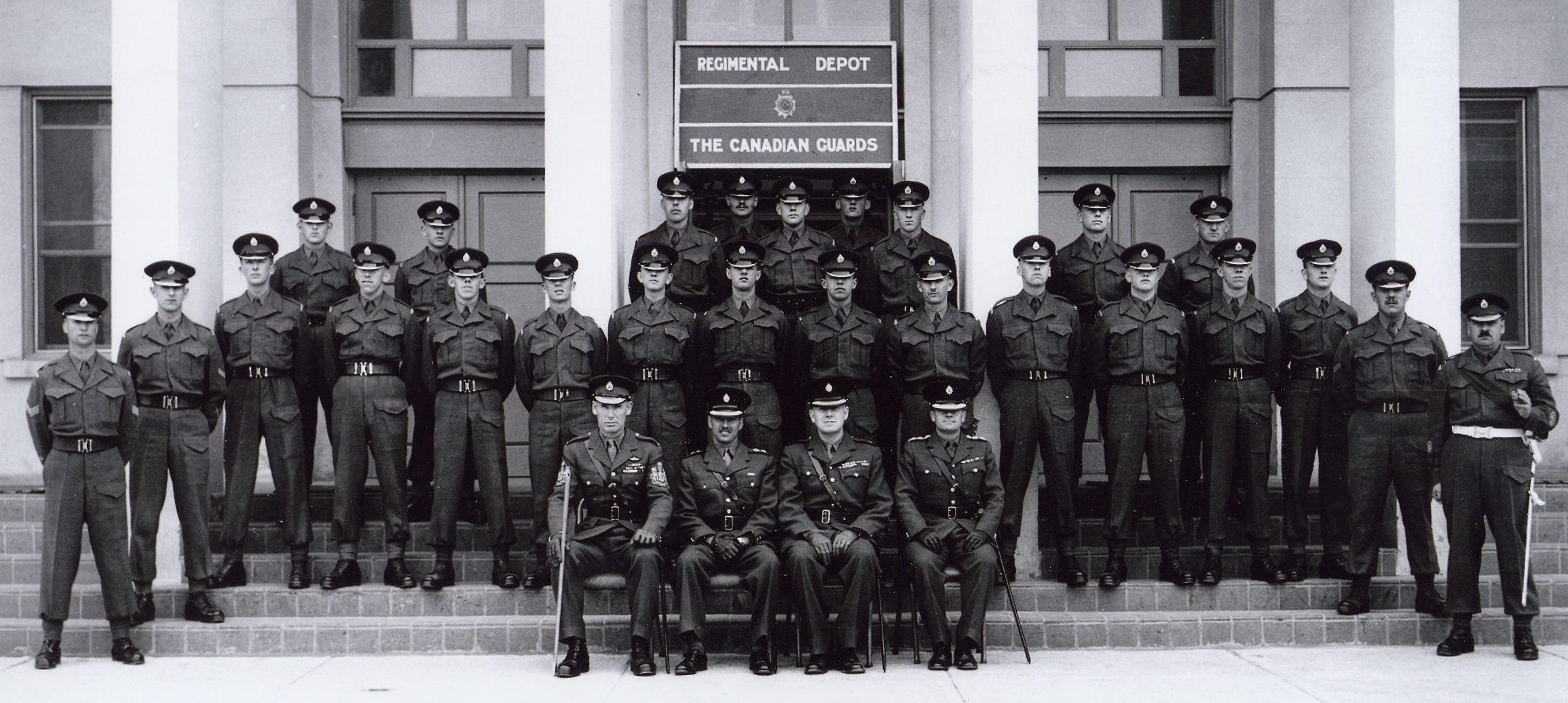 12_Cdn Guards Depot circa 1958
