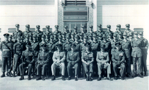 13_Cdn Guards-1954-1955--First Platoon to graduate from Depot