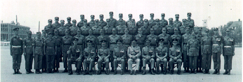 15_Cdn Guards-Graduating Platoon circa 1958