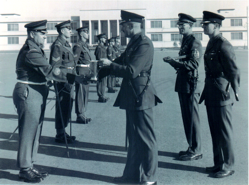 16_Cdn Guards-Petawawa-First Pace Stick Competition 1956