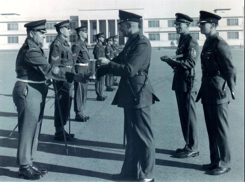 16_Cdn Guards-Petawawa-First Pace Stick Competition 1956