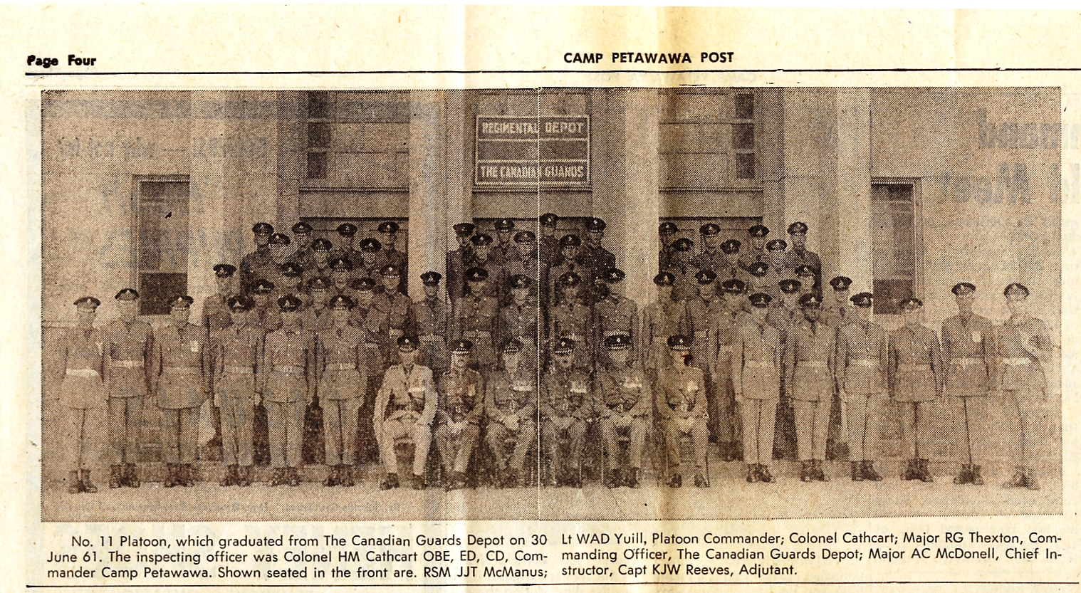 27_RSM McManus-Camp Petawawa Post-Wed 12 Jul 1961 - Pg 4aTop