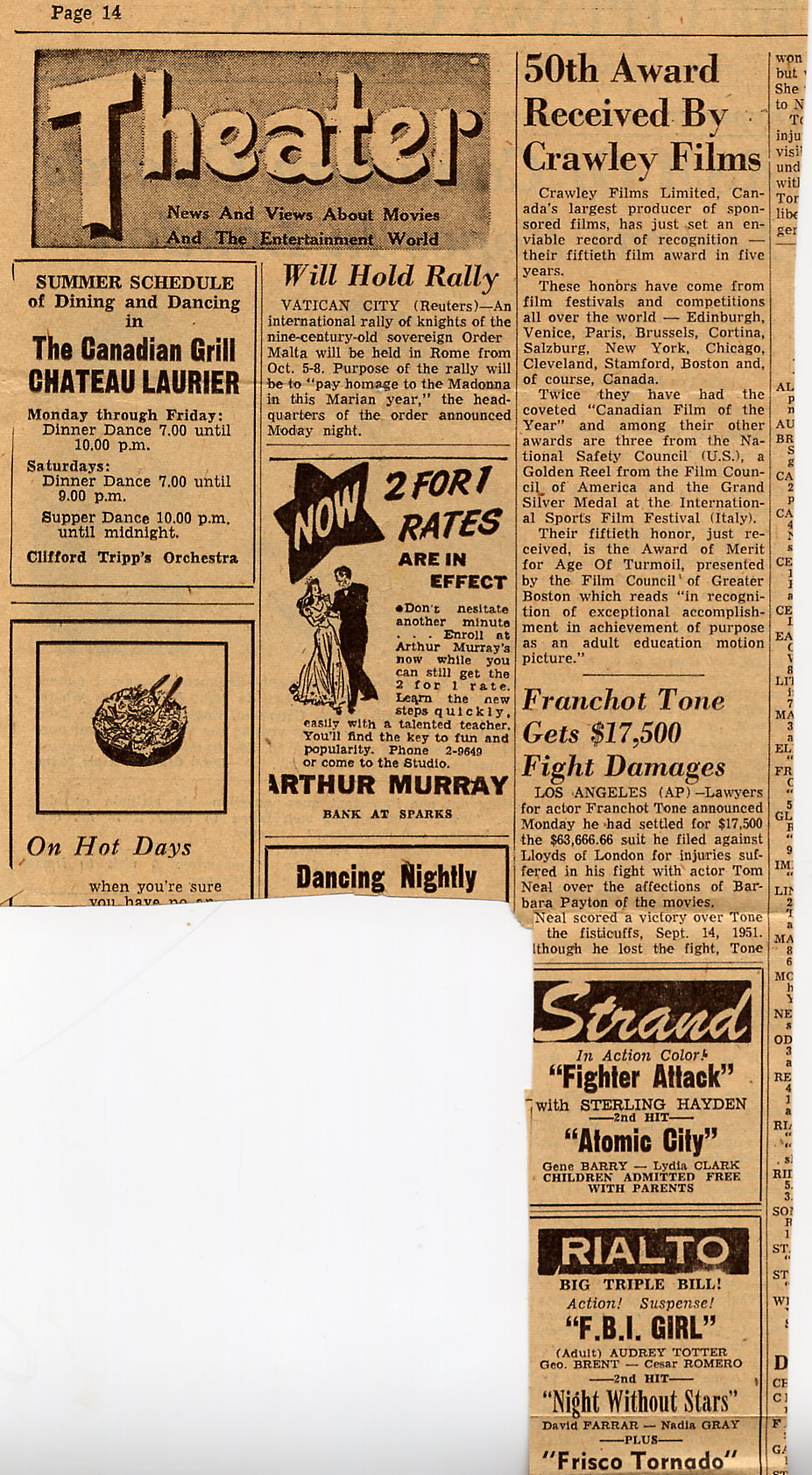 7_Caterham-Ottawa Citizen-Pg-4-August-17-1954