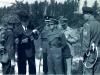 14_Cdn Guards-Georges Peakes MND-Mr. Ron Cheriton-RSM JJ McManus-others unknown circa 1958 Petawawa