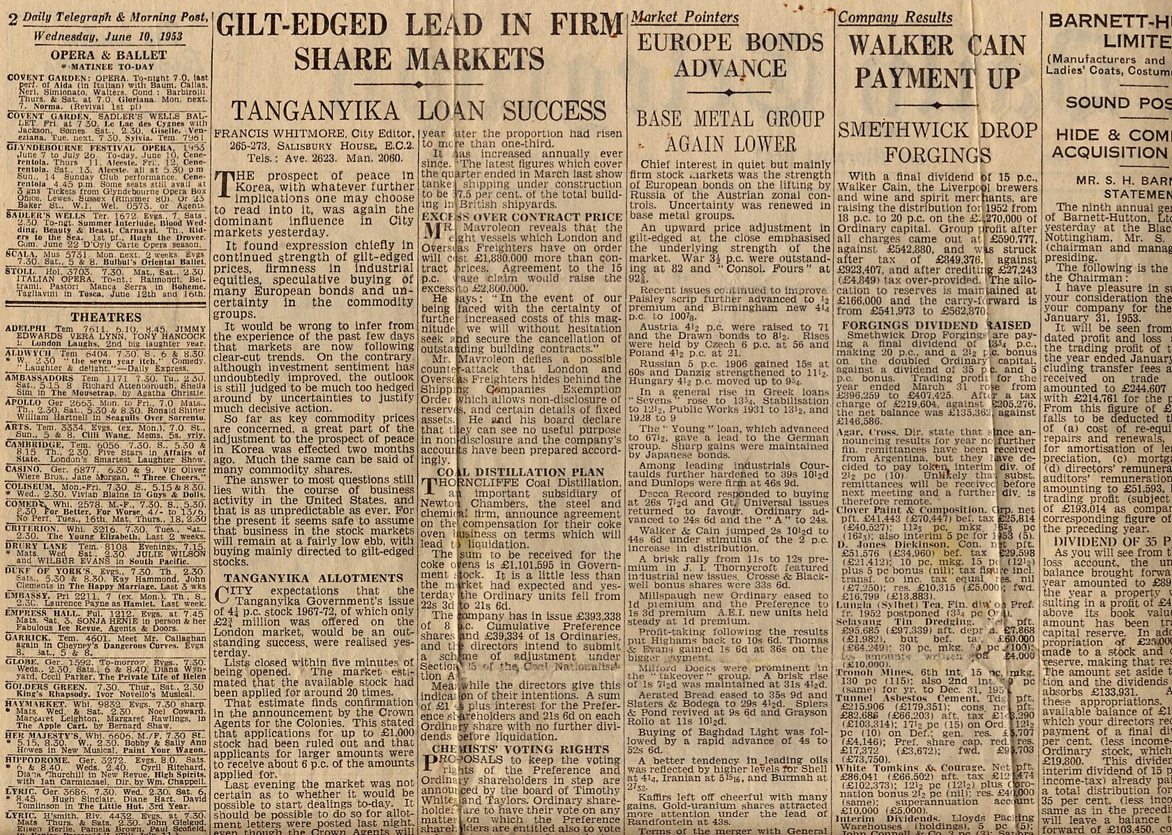49_The Daily Telegraph-June-10-1953-Partial Pg 2