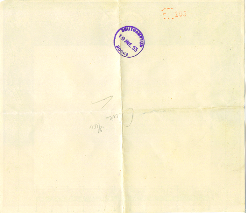 52_Coronation-Telegram to RSM McManus from Joan Wadey-Sister-in-Law-Back