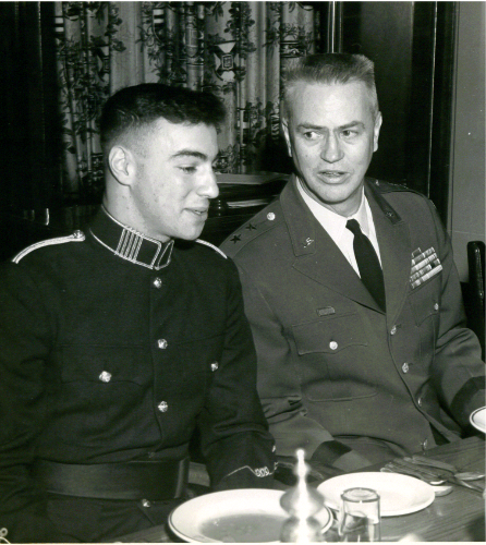 24_RMC-USMC March 6-1966 Weekend3-CWC & Maj Gen Bennett USMC