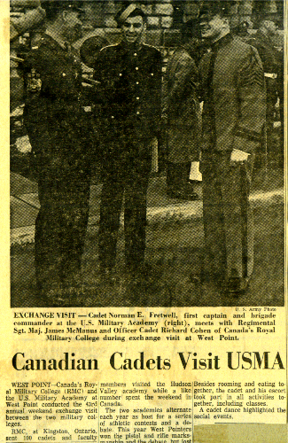 28_RMC-USMC March 6-1966 Weekend5-Newpaperarticle