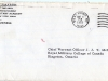 40_CSM Kaczmarek USMA Westpoint to RSM McManus-11 March 1970-Envelope