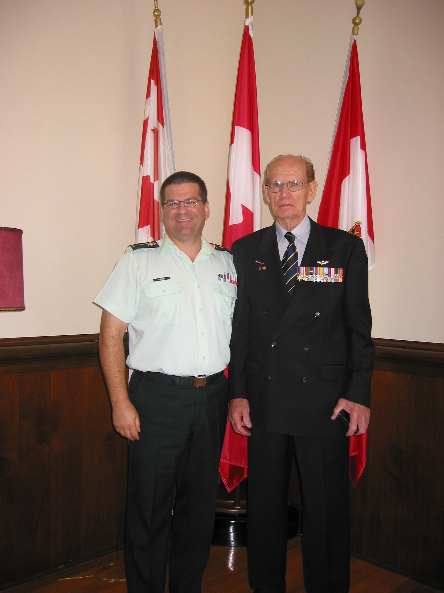 2006_RMC Commandant with The Rock